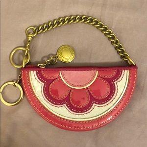 Coach mini change purse